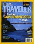 National Geographic Traveler Magazine Cover