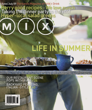 May 2009 Cover Photo of Mix Magazine