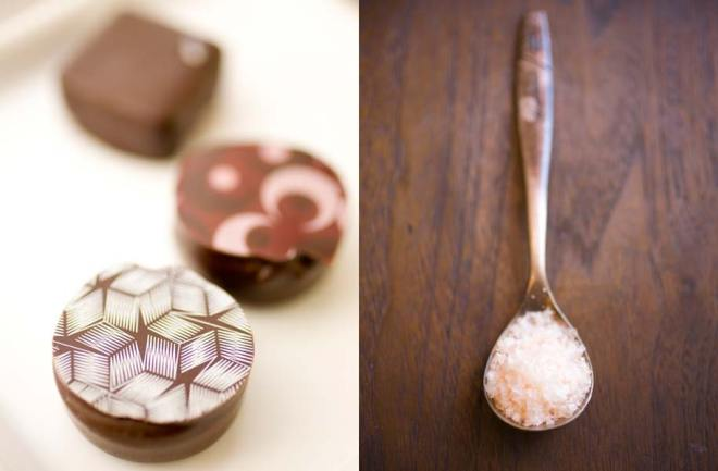 Chocolates from Cacao in Portland, Salt from the Meadow in Portland