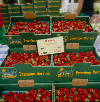 Hood Strawberries - the sweetest!