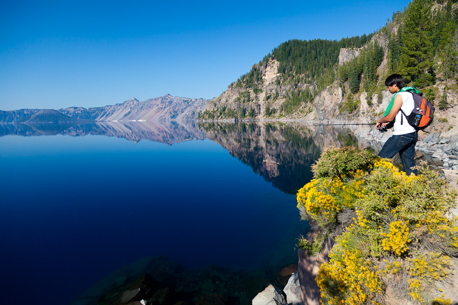 crater lake commercial editorial and travel