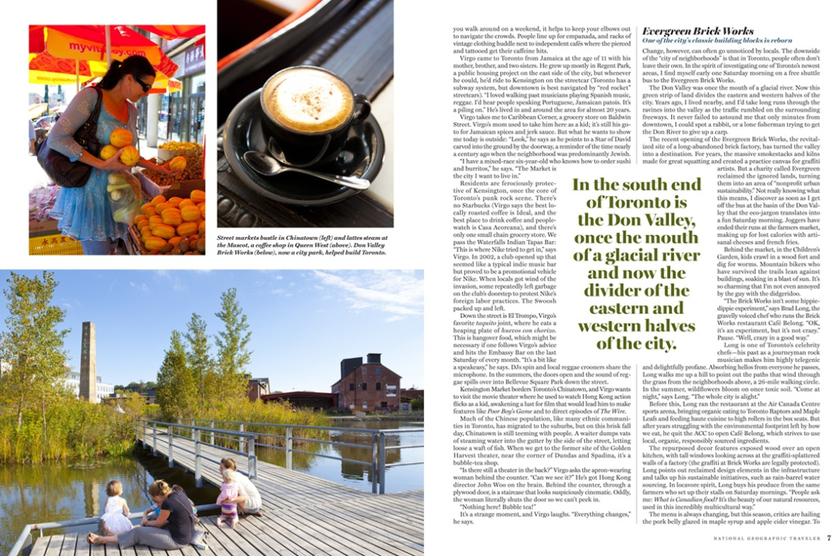Coffee, shopping in Chinatown and the marvelous Brickworks