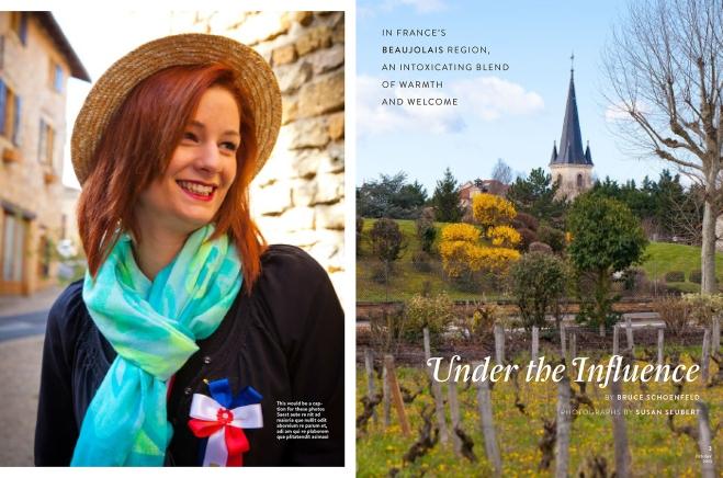 Beaujolais, France for National Geographic Traveler Magazine