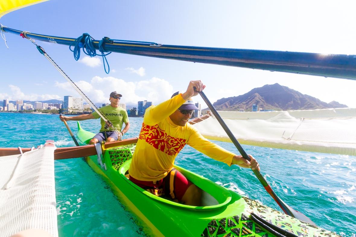 The opener for National Geographic Traveler's Aloha Honolulu Story