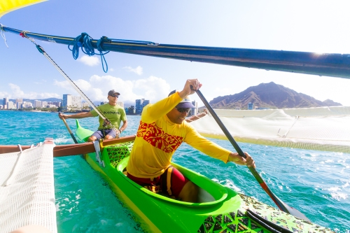 The opener for National Geographic Traveler's Aloha Honolulu Story