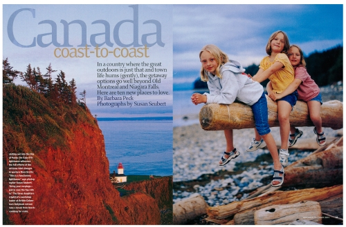 Canada Coast to Coast for National Geographic Traveler