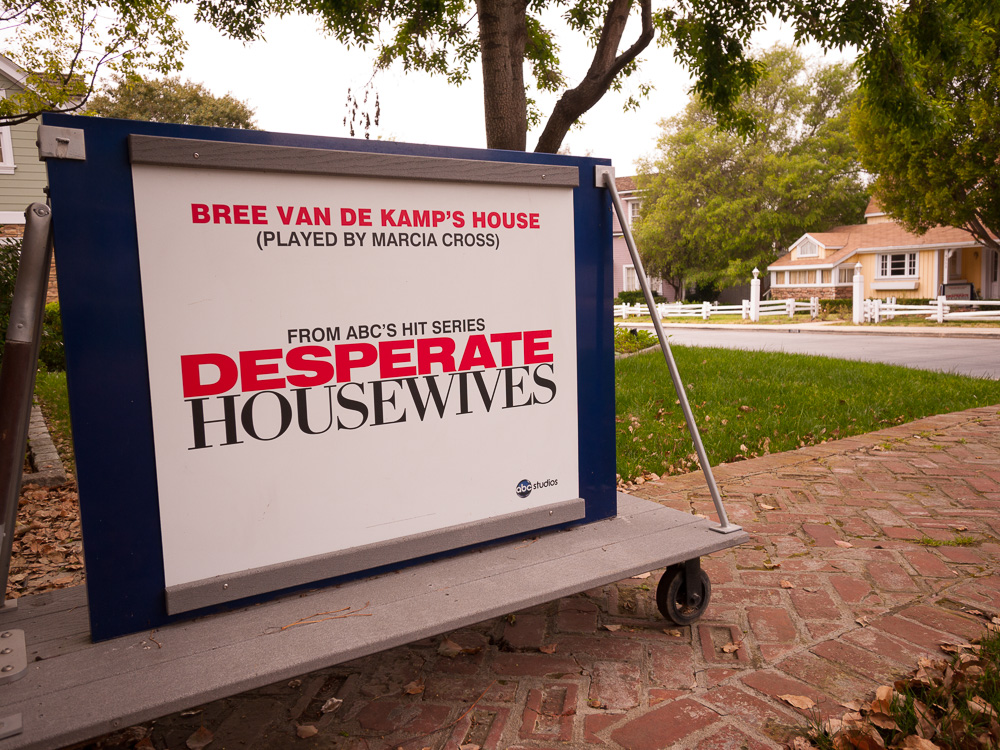 Our third location was on the Universal Studios Backlot.  We shot on the same street where Desperate Housewives was filmed.  I wonder how many selfies we all took? #wisterialane
