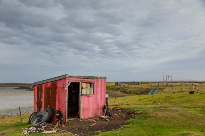 Long Island Farm in the Falkland Islands