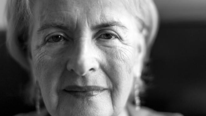Frieda Grayzel, Holocaust Survivor, in her Portland, Oregon apartment