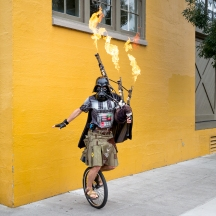 The Unipiper in Portland, Oregon