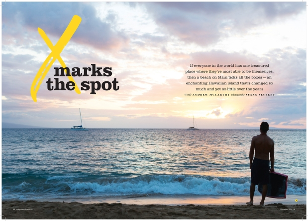 Maui Editorial Photographer Shoots for National Geographic Traveller UK