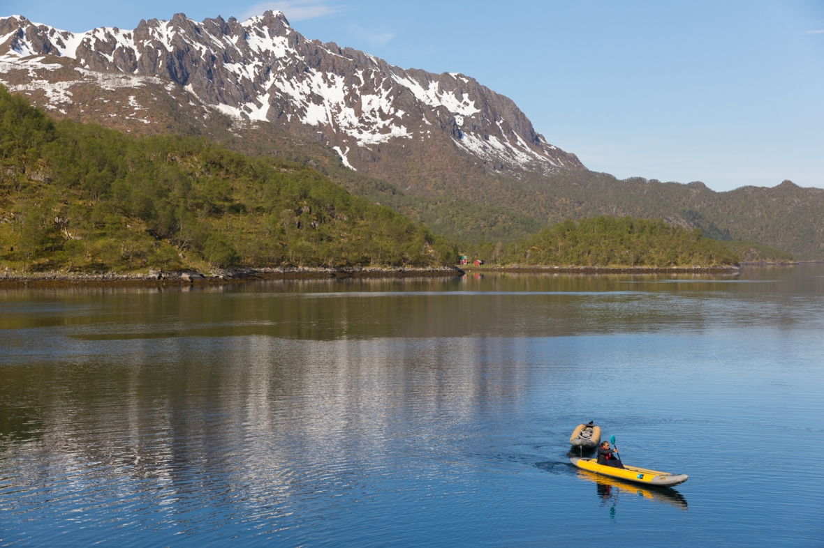 Lonkanfjorden, Tysfjorden, Norway, Europe