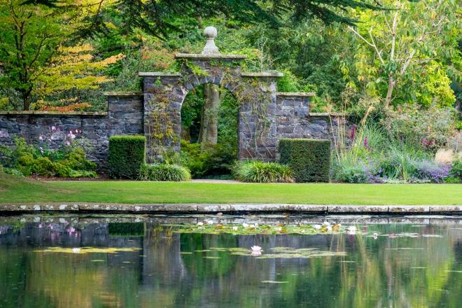 Bodnant Gardens, Llandundo, Wales, Europe