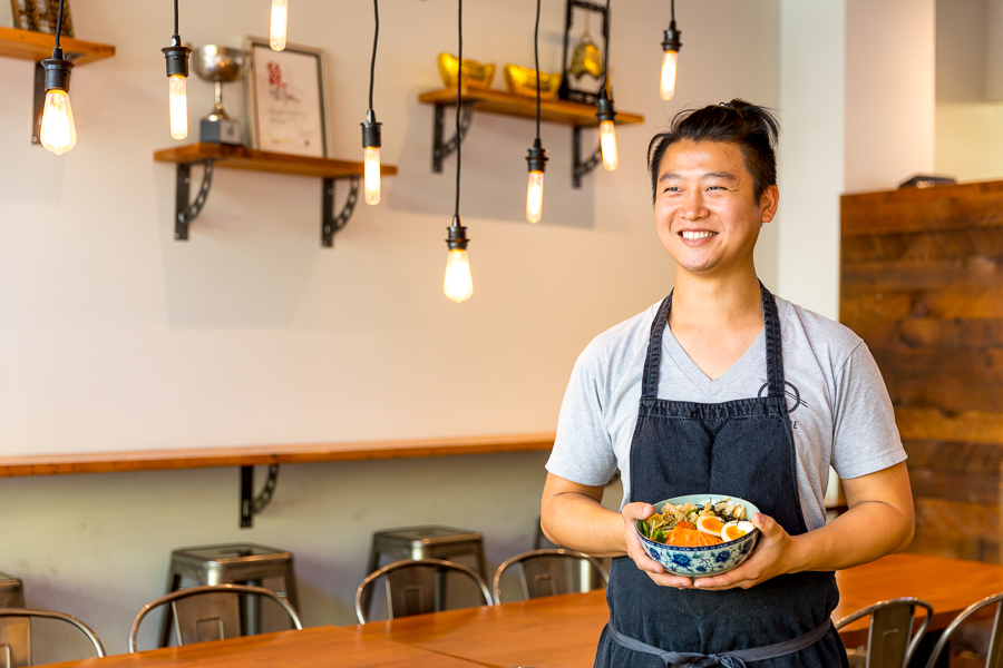 Heritage Asian Eatery, a counter-service restaurant that features a blend of Japanese flavors combined with locally sourced ingredients and modern techniques.  Felix Zhou, is a classically trained chef and runs the bistro on West Pended St. Vancouver, Bri