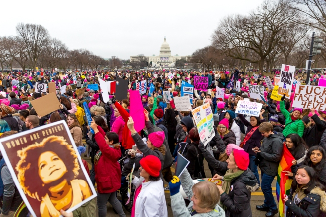 Women's March on Washington, Washington, DC, USA